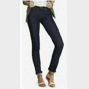 EXPRESS X2 Skinny Jeans W01 Stretch Dark Wash 4